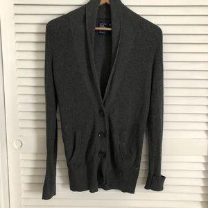 AE shawl collar cardigan